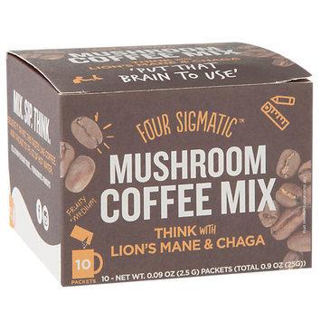 Four Sigma Foods Lions Mane Mushroom Coffee With Chaga Drink Mix