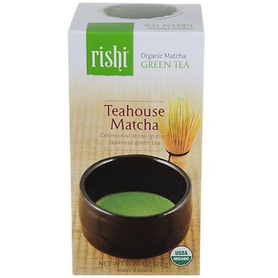 Rishi Tea - Organic Teahouse Matcha Green Tea - 0.7 oz.