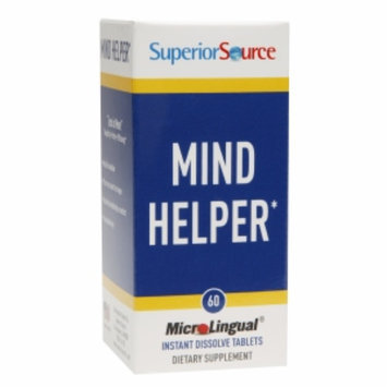 Superior Source Mind Helper, Tablets, 60 ea