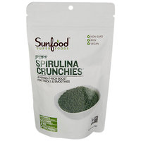 Sunfood Superfoods - Pure Spirulina Crunchies - 4 oz.