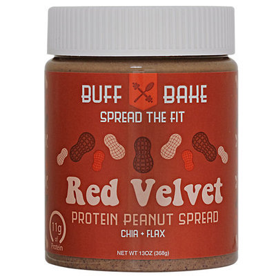 Buff Bake Protein Peanut Spread Red Velvet 13 oz
