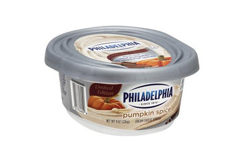 Philadelphia Cream Cheese Spread Pumpkin Spice