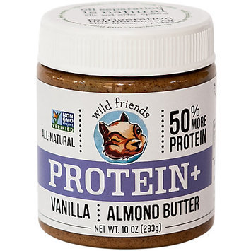 Wild Friends Protein Plus Almond Butter Vanilla 10 oz