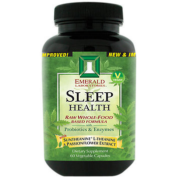 Emerald Labs - Sleep Health - 60 Vegetarian Capsules