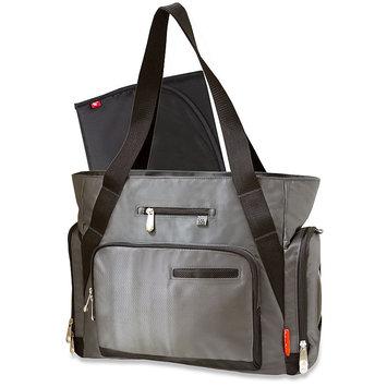 Pacesetter Fisher-Price Jacquard Tote Diaper Bag (Grey)
