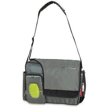 Pacesetter Fisher Price Messenger Diaper Bag-Grey