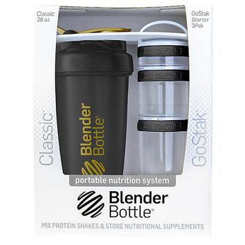 Blenderbottle Blender Bottle Combo Pack Black Gold Black