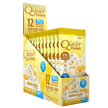 Quest Nutrition Quest Protein Packets Banana Cream