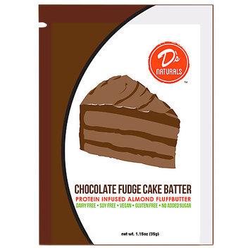 Fluffbutter Squeeze Packs (Chocolate Fudge Cake Batter) - 10 pack (1.23 Oz)