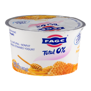 Fage Total 0% Nonfat Greek Strained Yogurt With Honey