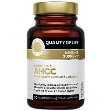 Quality of Life Labs, Kinoko Gold AHCC 30 Veggie Capsules