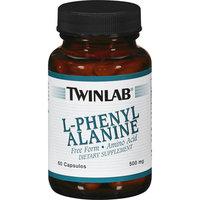 Twinlab L-Phenylalanine Amino Acid Capsules