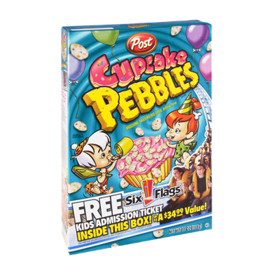 Post Cupcake Pebbles Cereal