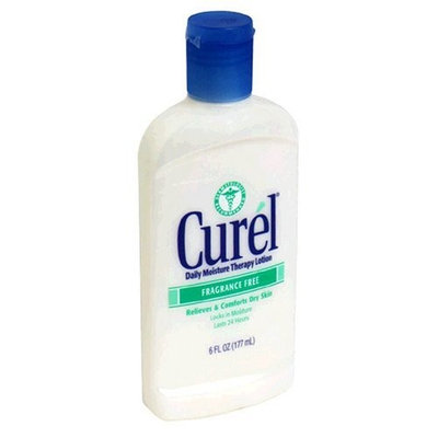 Victory Wholesale Grocers Curel Daily Moisture Therapy Lotion, Fragrance Free, 6 fl oz (177 ml)