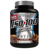 Dymatize Nutrition Iso 100 Fudge Brownie 3 Lb
