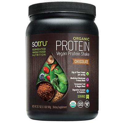 SoTru - Organic Fermented Vegan Protein Shake Chocolate - 20.7 oz.