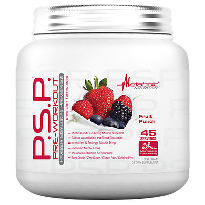 Metabolic Nutrition PSP Pre Workout