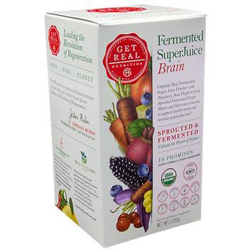 Get Real Nutrition Fermented SuperJuice Brain