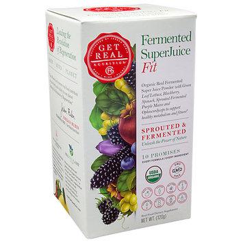 Get Real Nutrition Fermented SuperJuice Fit