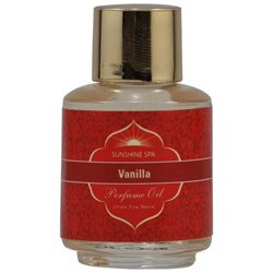Sunshine Spa: Perfume Oil, Vanilla 0.25 oz