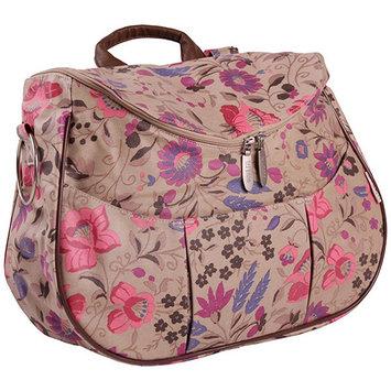 Minene Layla Floral Diaper Bag in Cream