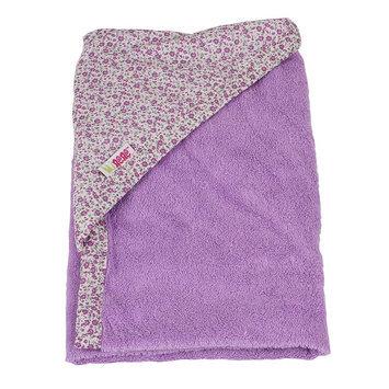 Minene Newborn Hooded Towel (Purple)