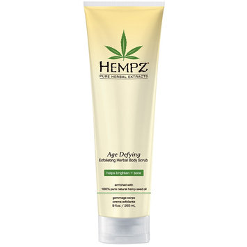 Hempz Age Defying Glycolic Herbal Body Scrub