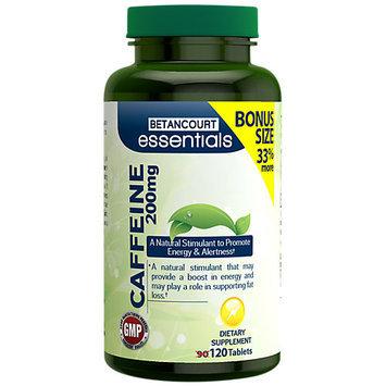 Betancourt Essentials Caffeine 120 Tablets