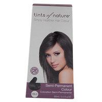 Tints Of Nature - Semi-Permanent Hair Color Black - 3 oz.