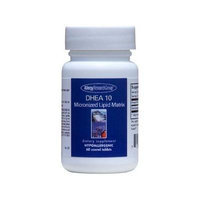 Allergy Research Group - DHEA 10 Mg Scored Tabs - 60