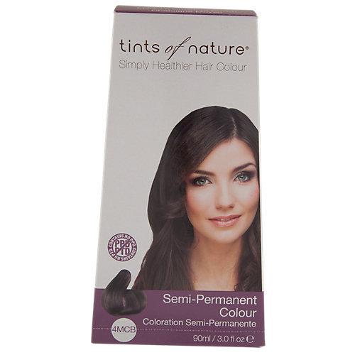 Tints Of Nature - Semi-Permanent Hair Color Medium Chestnut Brown - 3 oz.