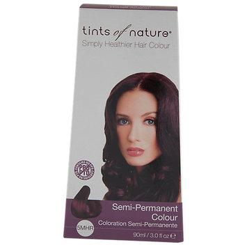 Tints Of Nature - Semi-Permanent Hair Color Mahogany Red - 3 oz.