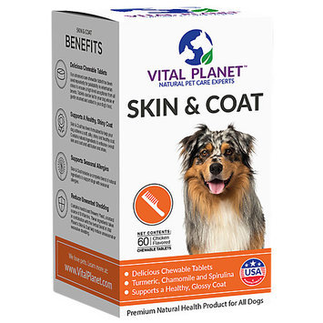 Skin & Coat Vital Planet 60 Chewable