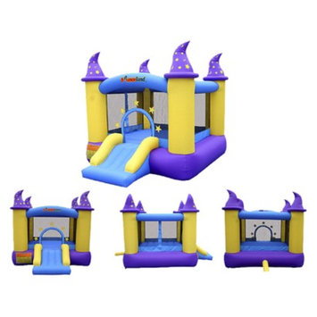 Bounceland Wizard Castle Bounce House - Blue