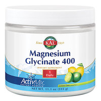 Magnesium Glycinate 400 ActiMix Unflavored Kal 11.1 oz Powder