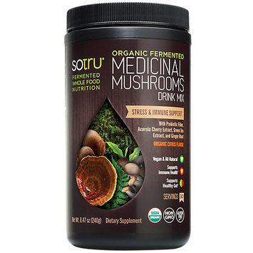 SoTru - Organic Fermented Medicinal Mushrooms - 8.47 oz.