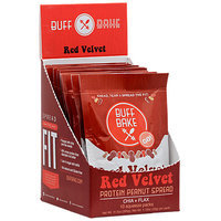 Buff Bake Protein Peanut Spread, Red Velvet, 10 - 1.15 Squeeze Packs