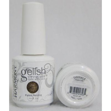 Harmony Gelish Uv Soak Off Gel Polish -Twinkle (0.5 Oz)