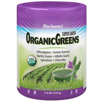 Bluebonnet Nutrition - Super Earth OrganicGreens - 7.4 oz.