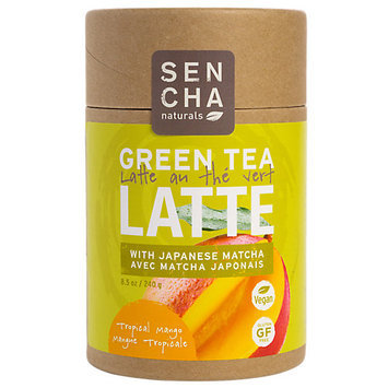 Sen Cha Naturals Topical Mango Green Tea Latte with Matcha
