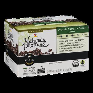 Nature's Promise Organics Organic Sumatra Decaf Coffee K-Cup Packs Medium Roast - 12 CT