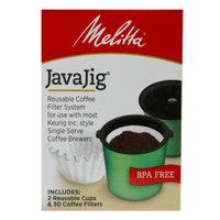 Melitta JavaJig Reusable Coffee Filter System Kit, 1 ea