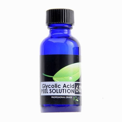 IQ Natural:Glycolic Acid 60% Chemical Facial Peel AHA 1oz. (Professional)