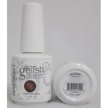 Harmony Gelish UV Soak Off Gel Polish Reserve