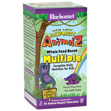Super Earth Rainforest Animalz Whole Food Based Multiple Grape Bluebonnet 90 Che