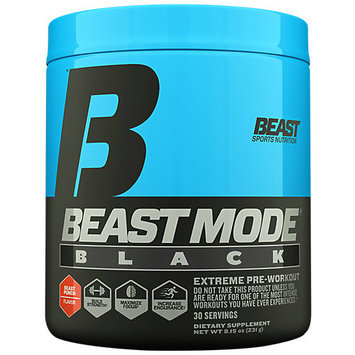 Ultra Lab Nutrition Beast Mode Black