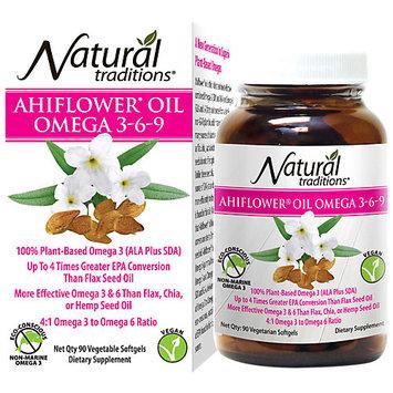 Organic Traditions Ahiflower Oil