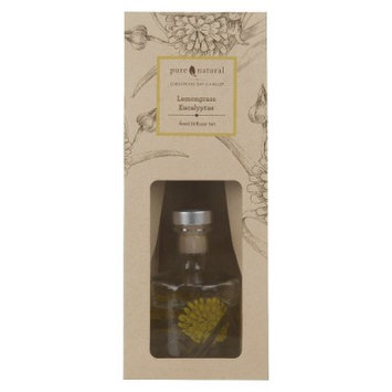Pacific Trade Pure and Natural Lemongrass/Eucalyptus Reed Diffuser