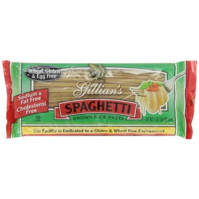 Gillian's Food Pasta, Spaghetti, Gluten and Wheat Free, 1-Pound (Pack of 6)