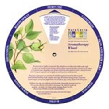 Frontier Natural Foods Frontier Natural Products 191309 Aura Cacia Aromatherapy Wheel